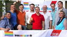 Mitglieder des AK LSBT im DBG