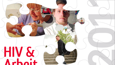 HIV und Arbeit Kalender Titelblatt