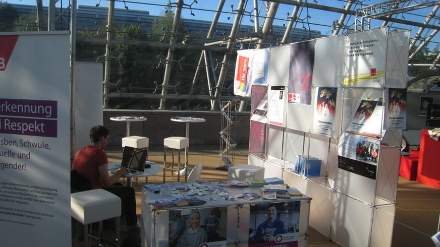 ver.di-queer Stand 2011
