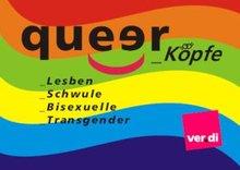 Aufkleber QueerKöpfe 2010