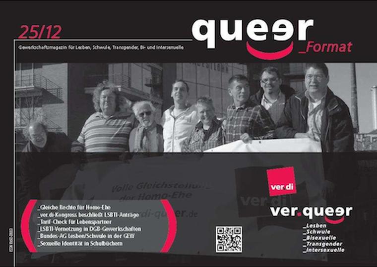 Queerformat 25/2012 Titelblatt