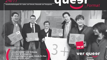 Queer_Format 24/2011 Titelblatt