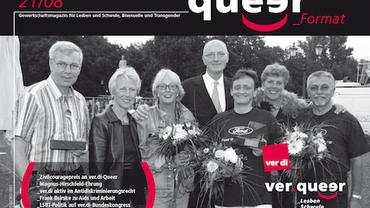 queer_Format 21/2008 Titel