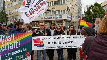 Internationaler Tag gegen Homophobie und Transphobie 2016