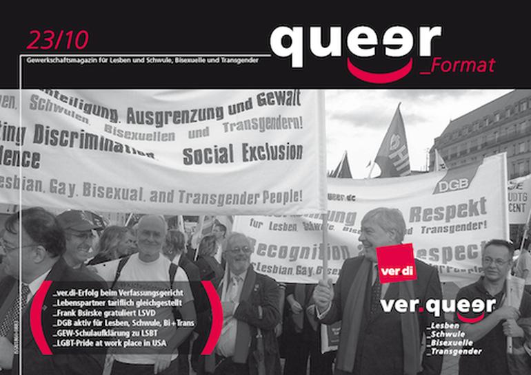 queer_Format 23/2010 Titel