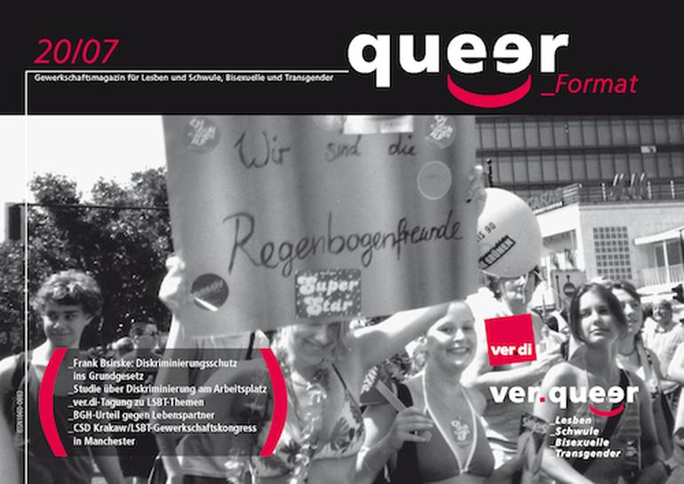 queer_Format 20/2007 Titel