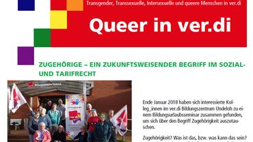 Gewerkschaftspubliikation Queer in ver.di Ausgabe 28/2018