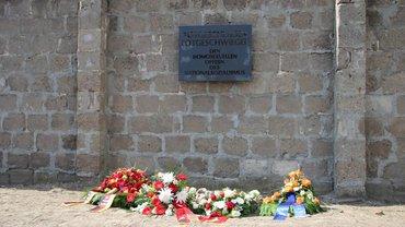 Gedenken in Sachsenhausen zum 74. Jahrestag der Befreiung