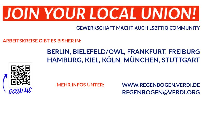 support your local union